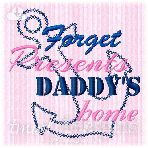 Daddy's Home Anchor Appliqué