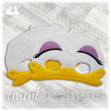 Mrs Duck Mask