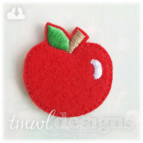 Emoji Apple Feltie