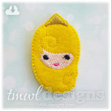 Emoji Pincess Crown Feltie