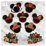 Mr. Mouse Turkey Feltie