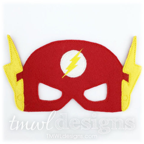 Lightning Bolt Hero Mask