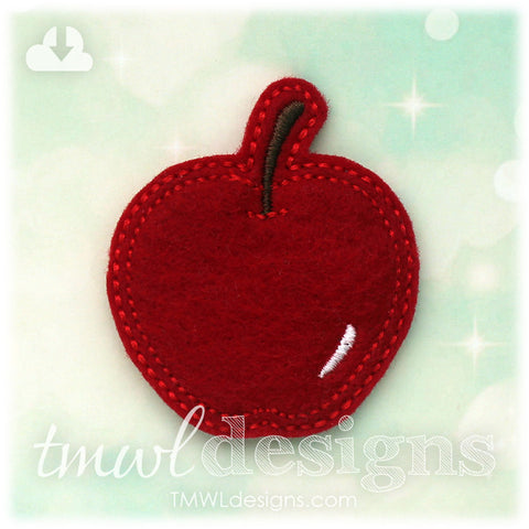 Apple Fruit Feltie