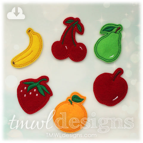 Fruit Feltie Set