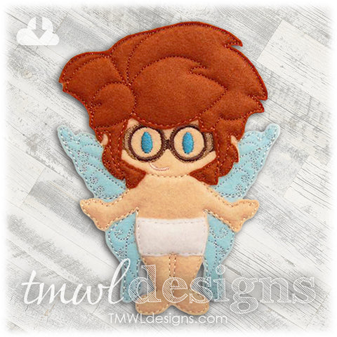 Gage Fairy Felt Paper Doll