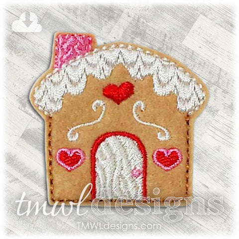 Gingerbread House Feltie