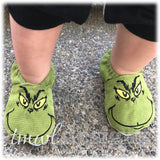 Christmas Grump Slippers - Infant & Toddler