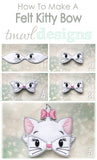 Felt Kitty Bow