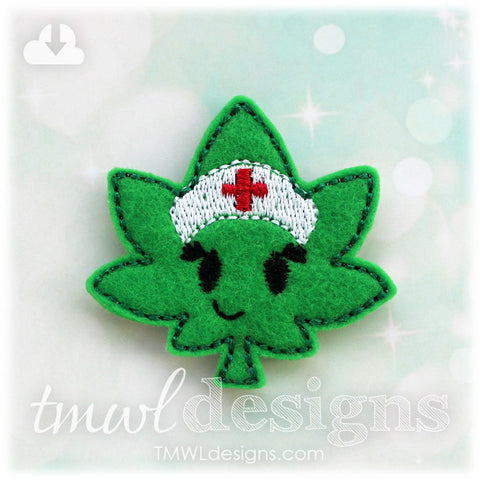 Medical Mary Leaf Feltie
