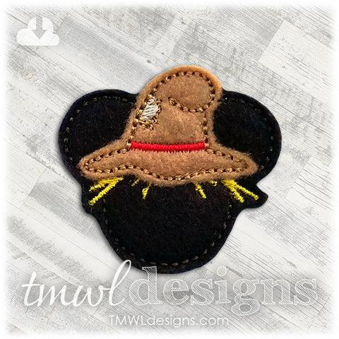 Mr. Mouse Scarecrow Feltie