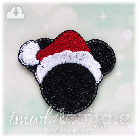 Mr Christmas Mouse Feltie
