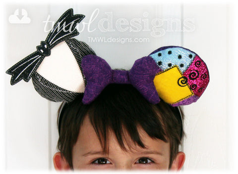 Christmas Nightmare Mouse Ear Stuffies