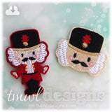 Nutcracker Head Feltie
