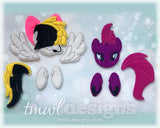 Fizzlepop Pony Bow Parts