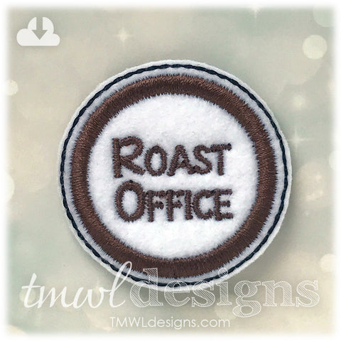 Roast Office Coffee Feltie