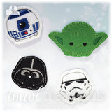 The Force Feltie Set One