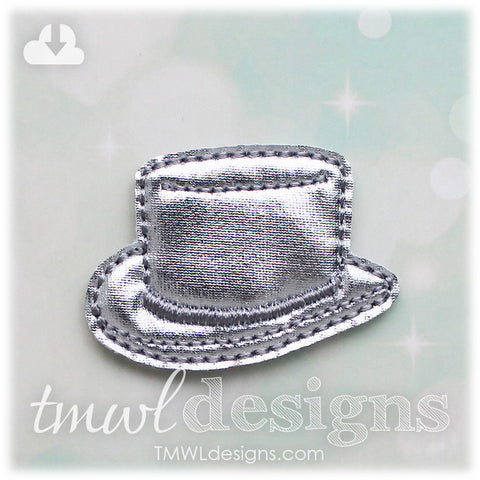 Top Hat Game Token Feltie