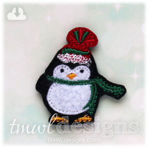 Winter Penguin A Feltie