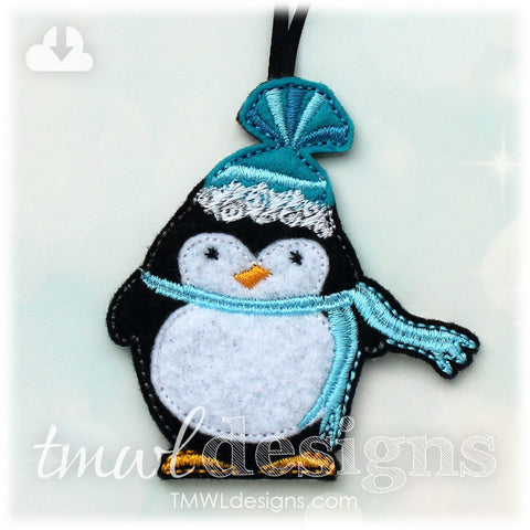 Winter Penguin Ornament