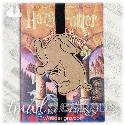 Wizard School House Badger Bookmark