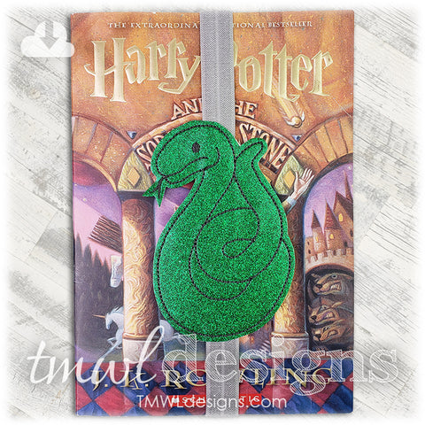 Wizard School House Snake Bookmark