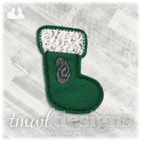 Wizard School Snake Stocking Feltie