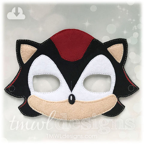 Black Hedgehog Mask
