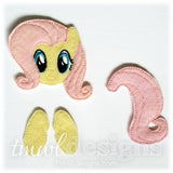 Flutter Pony Bow Parts