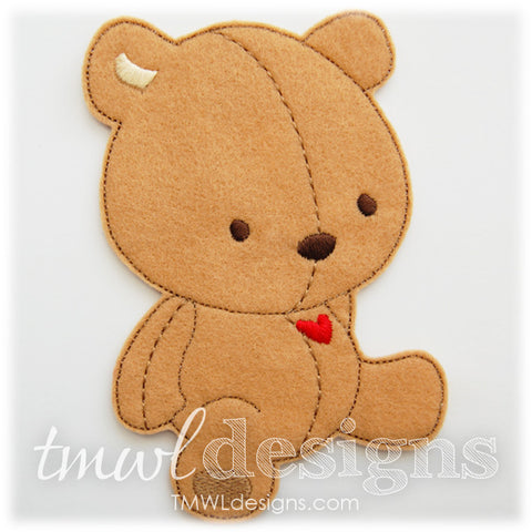 Jamie Teddy Bear Bow Holder