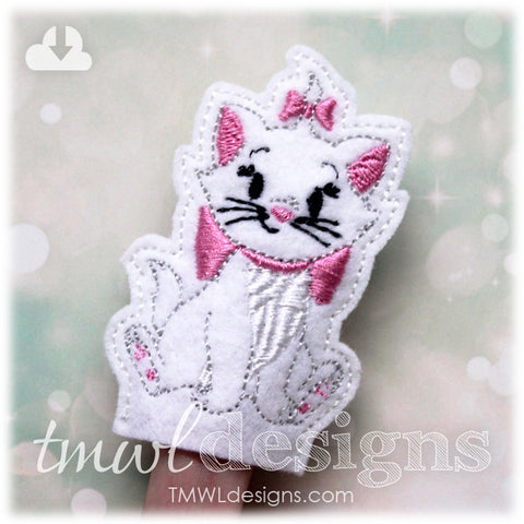 Kitty Finger Puppet