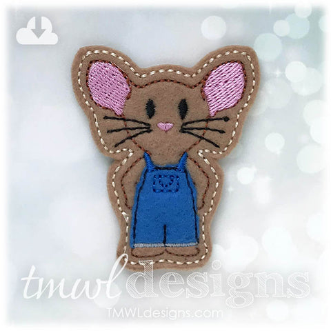 Mouse A Cookie Feltie