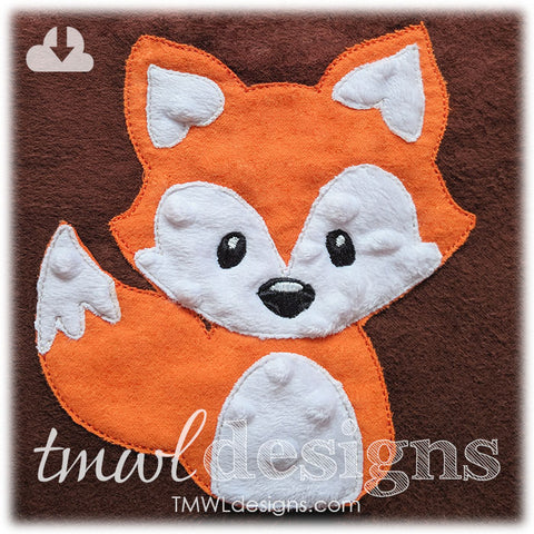 Raggy Fox Appliqué