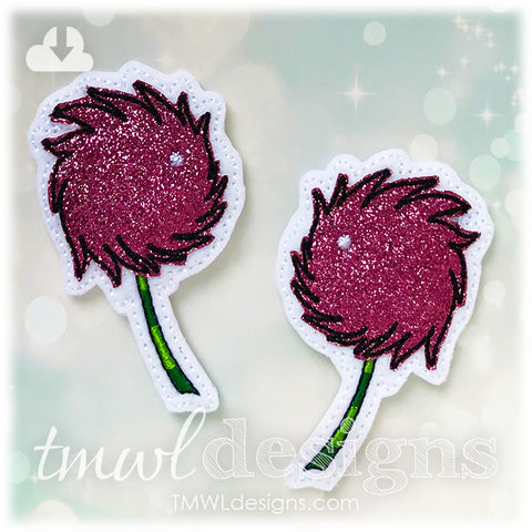 Red Clover A & B Felties