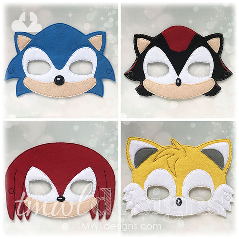 Hedgehog Hero Mask Set