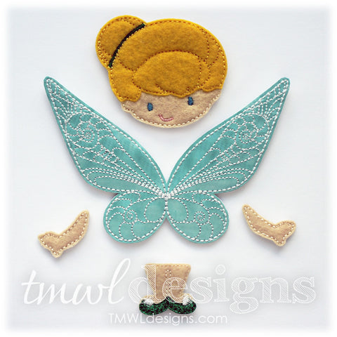 Tink Fairy Bow Parts