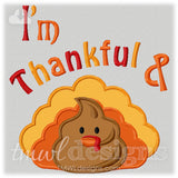 Thankful & Shh Appliqué