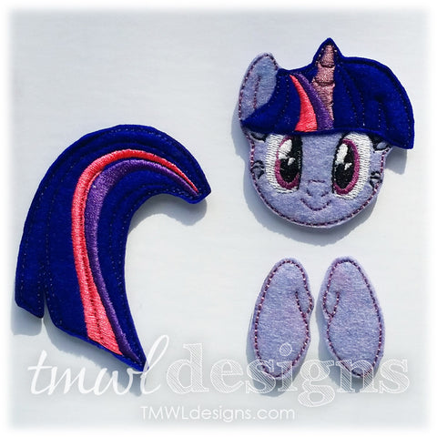 Twilight Pony Bow Parts