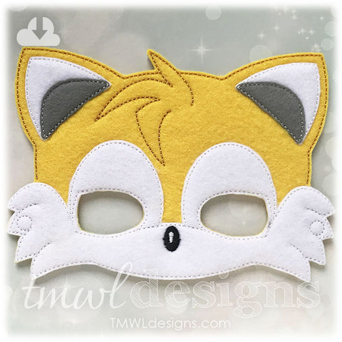 Yellow Fox Mask