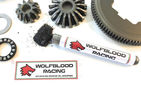 Wolfblood Racing advanced engine oil additive - Release the Beast!