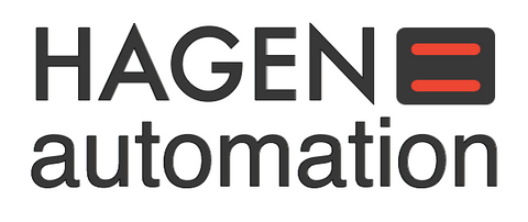 Hagen automation affordable robotic automation logo