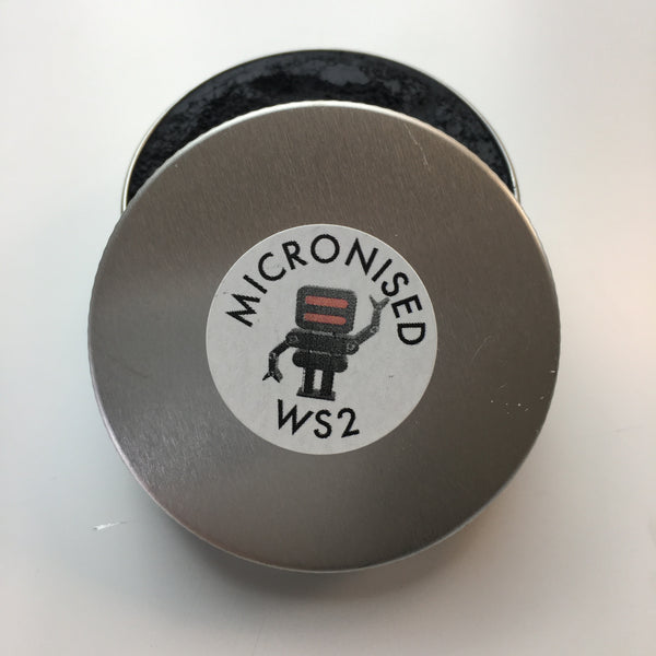 40g 0.6 micron APS Micronised WS2 - Tungsten Disulphide - powdered lubricant