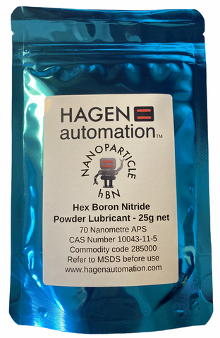 hBN hex boron nitride nitrobor powder lubricant for high temperatures