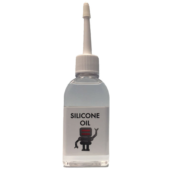 Hagen Automation Silicone oil 50ml white background