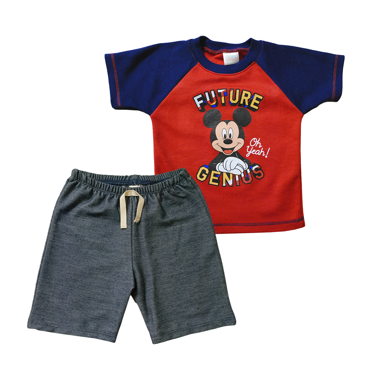 Set Bebito 2 Piezas Playera y Short Mickey