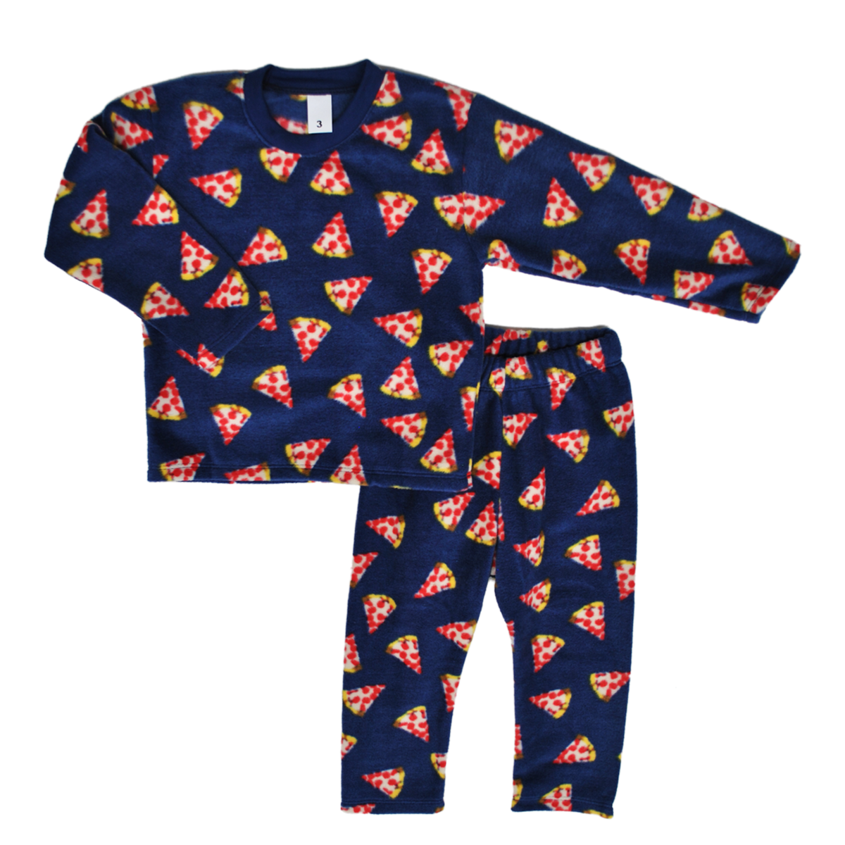 Pijama Familiar Pizza Party Niños