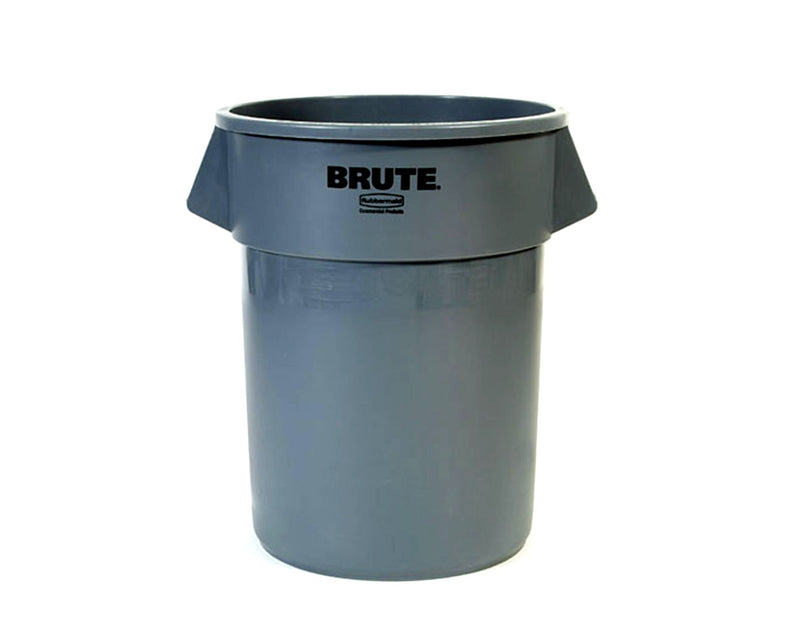 CONTENEDOR BRUTE S/TAPA GRIS 208.2 LTS. RMCP 2655 RUBBERMAID