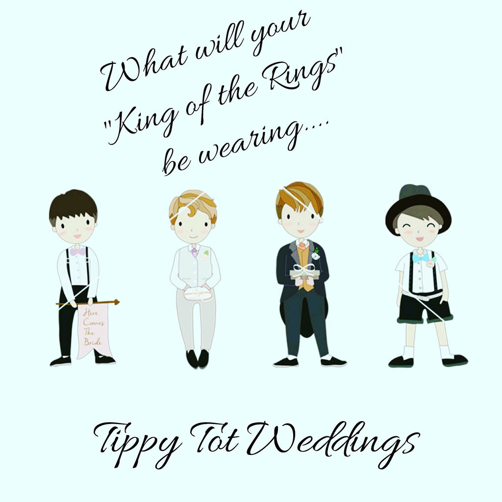 """King of the Rings"" & Tippy Tot Weddings"