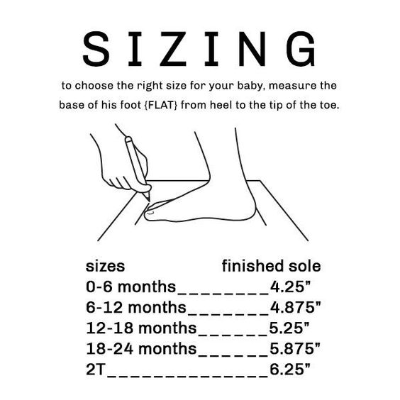 How to Size Toddler Shoes???
