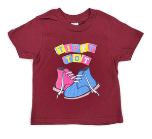 Toddler Short Sleeve Tee - Maroon