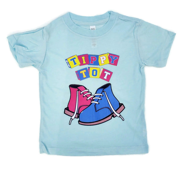 Toddler Short Sleeve Tee - Ice Blue Triblend